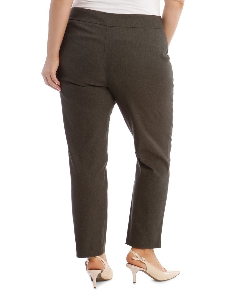 Slim Textured Full Length Bengaline Pant image 3