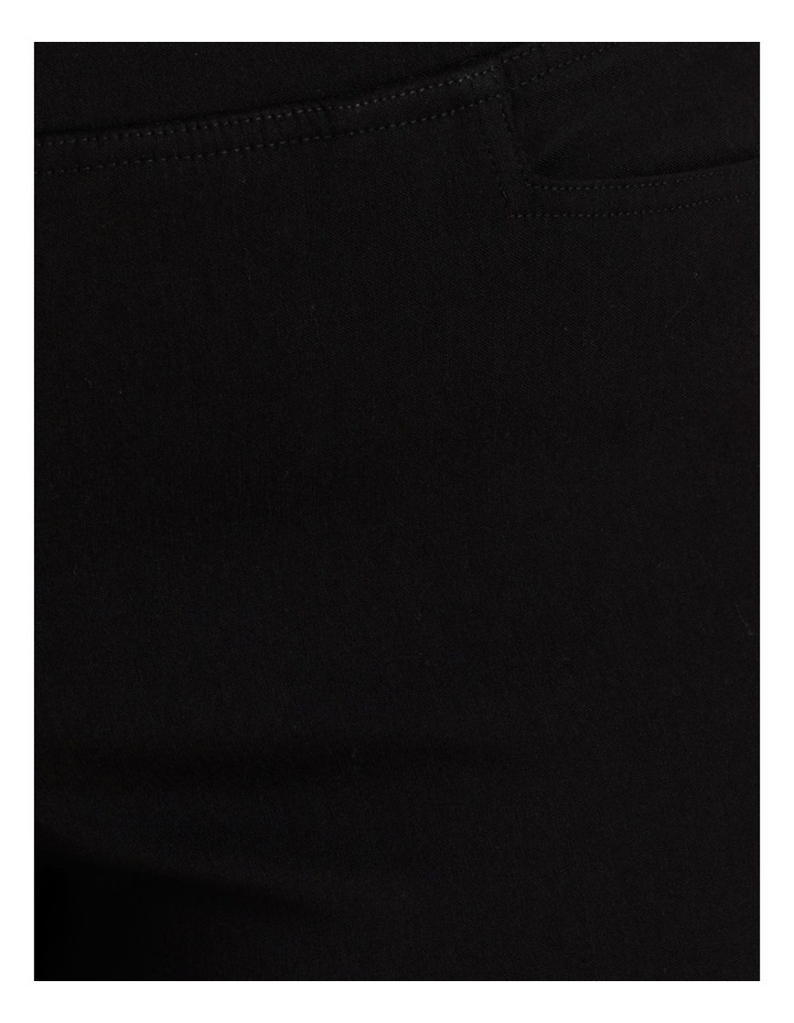 Essential Stretch Black Crop Pants image 7