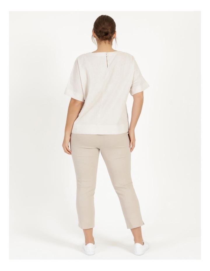 Wardrobe Staple Stretch Crop Pant Mid Stone image 4