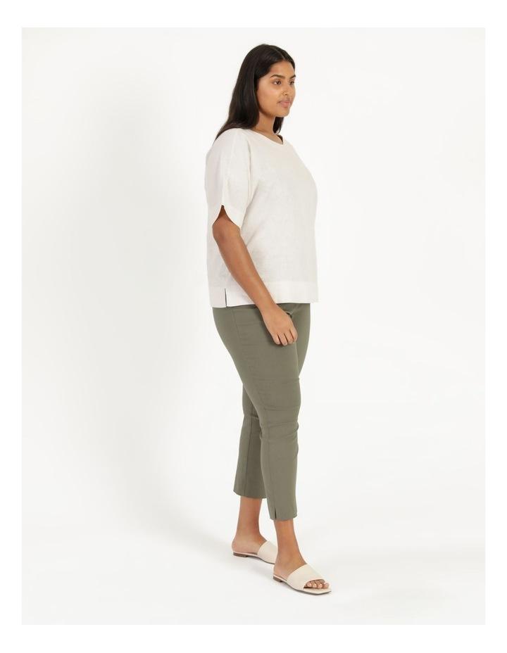 Wardrobe Staple Stretch Crop Pant Khaki image 4