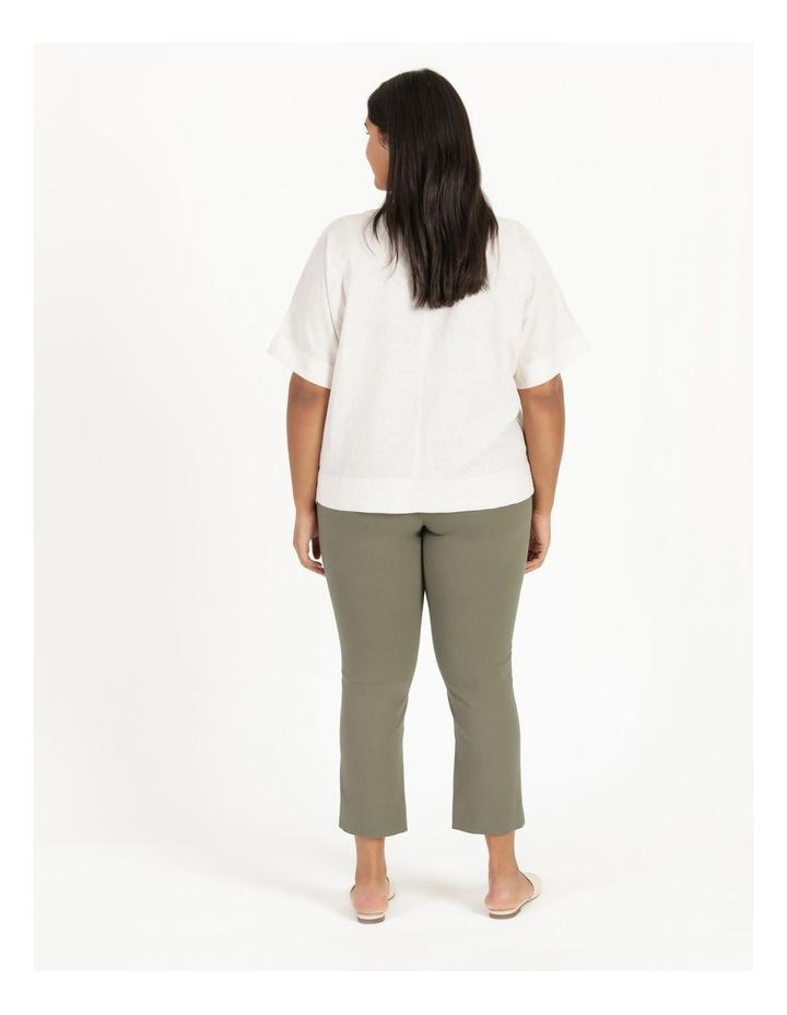 Wardrobe Staple Stretch Crop Pant Khaki image 5