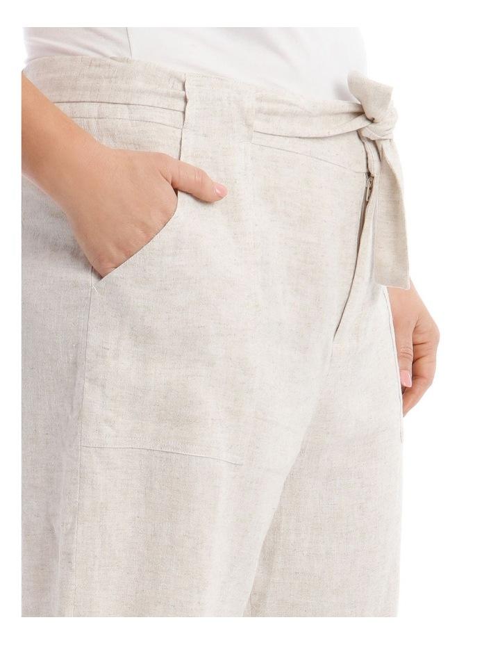 Tie Waist Patch Pocket Short image 4