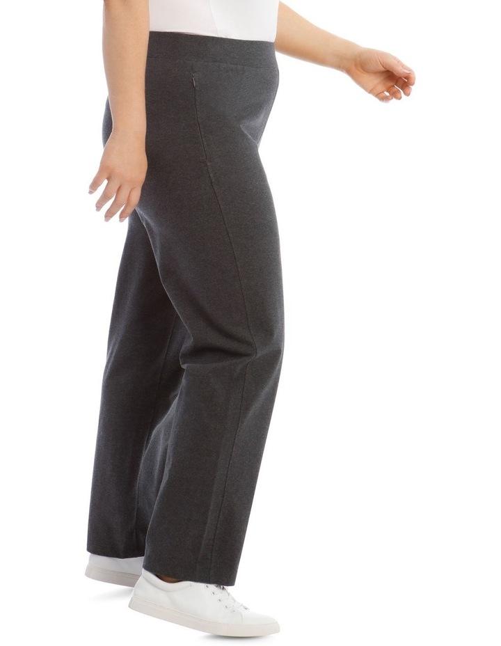 Charcoal Slim Leg Trackpant image 2
