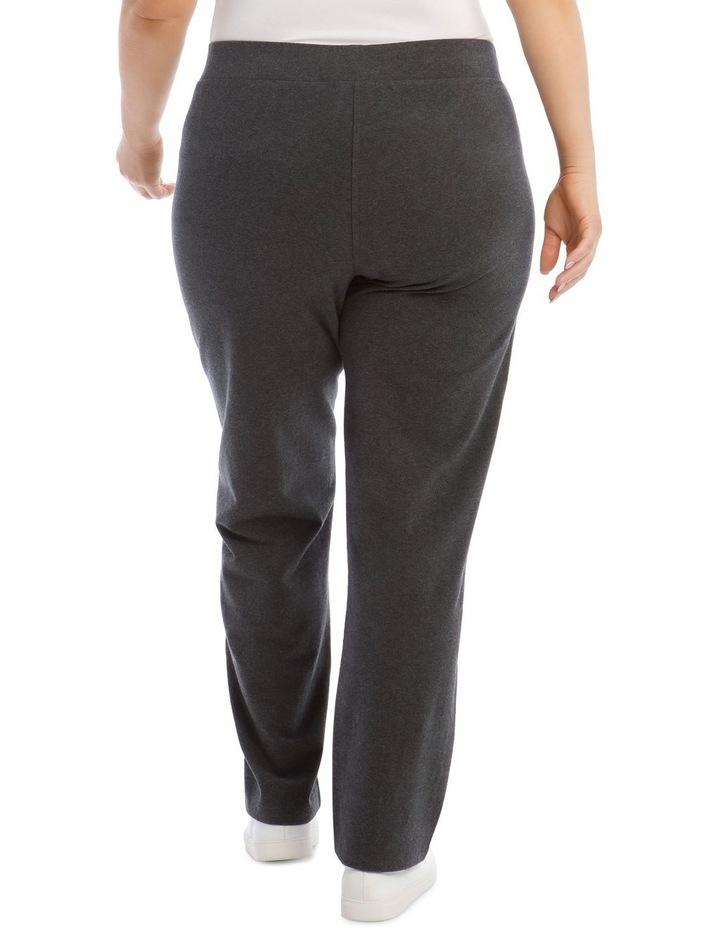 Charcoal Slim Leg Trackpant image 3