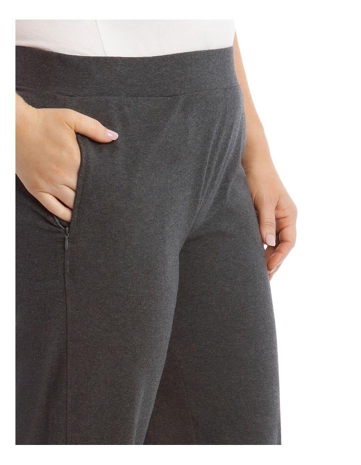 Charcoal Slim Leg Trackpant image 4