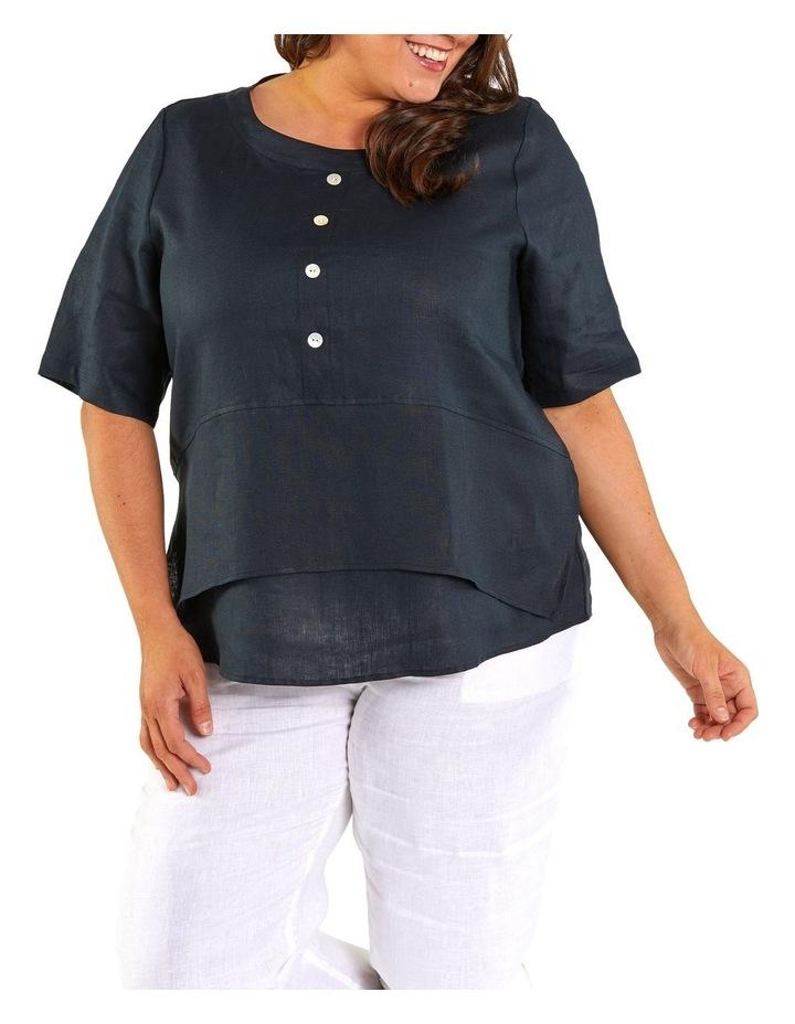 Layered Hem Shirt image 1