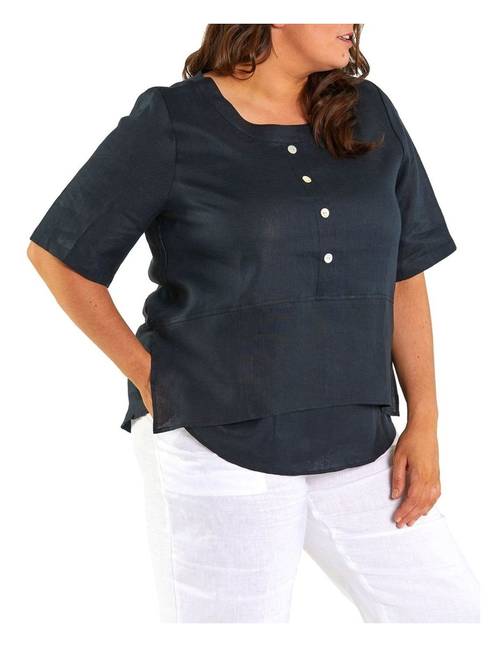 Layered Hem Shirt image 2