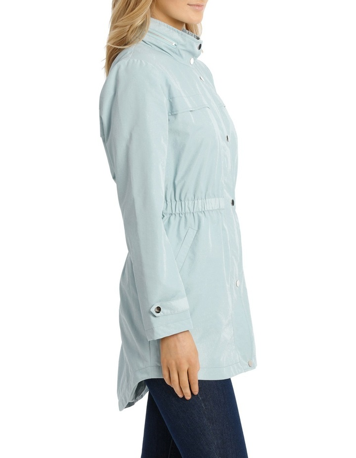 Soft Ruch Waist Long Sleeve Anorak image 2