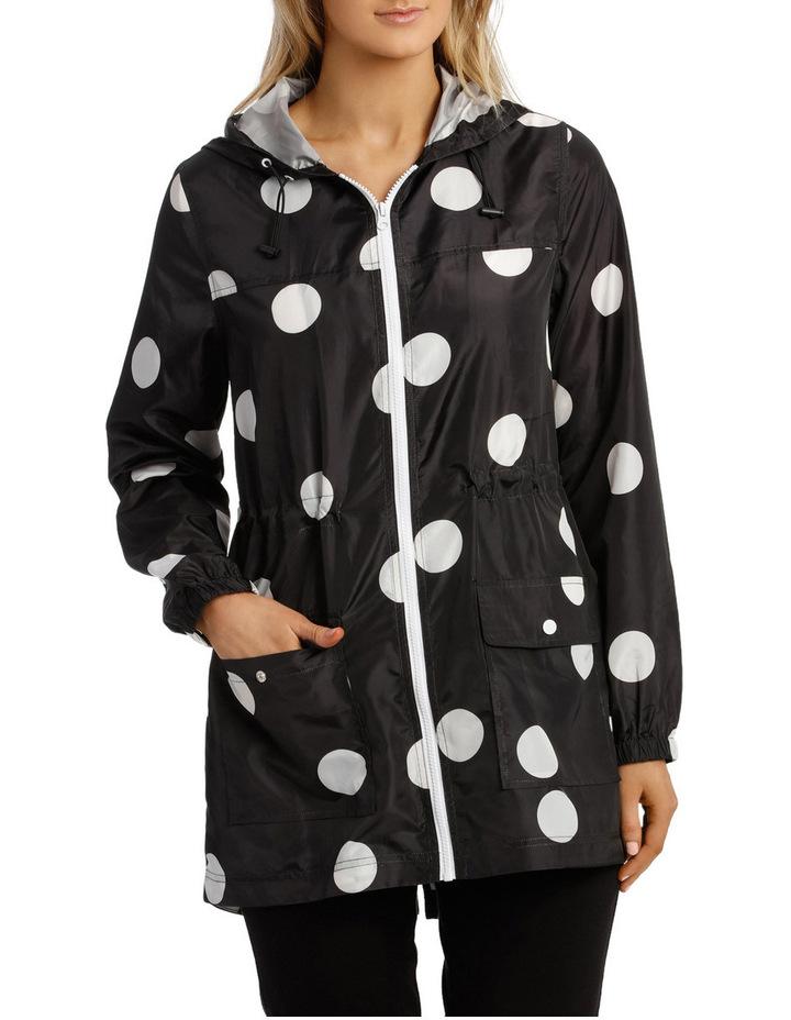 Lightweight Long Sleeve Jacket Polka Print image 1