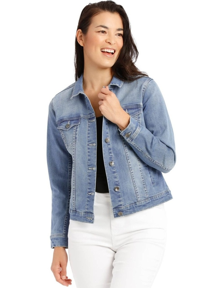 Stretch Denim Jacket image 1
