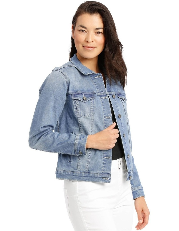 Stretch Denim Jacket image 2