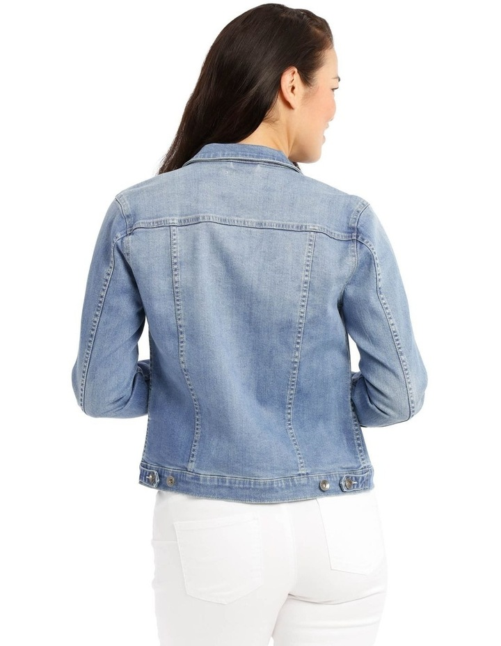 Stretch Denim Jacket image 3