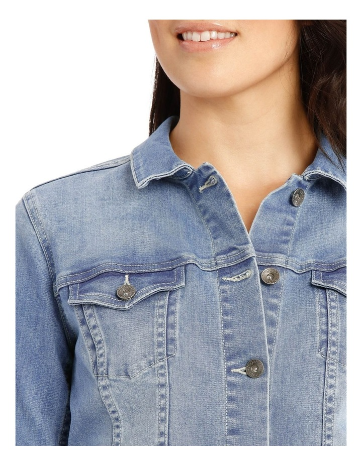 Stretch Denim Jacket image 4