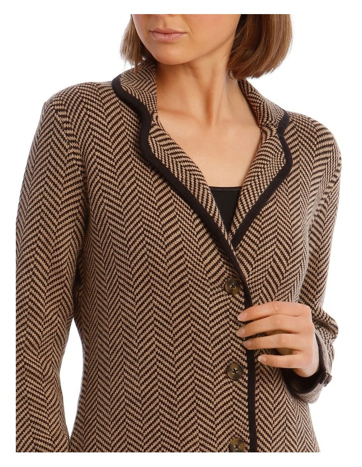 Knitted Jacket With Rever Collar image 3