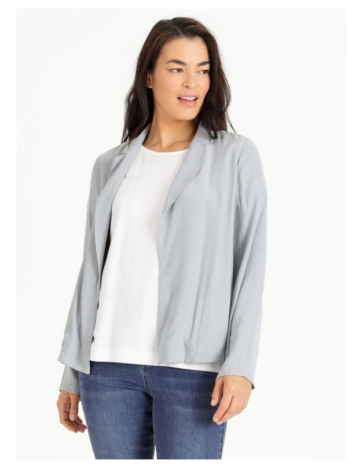 Unlined Crepe Jacket image 1