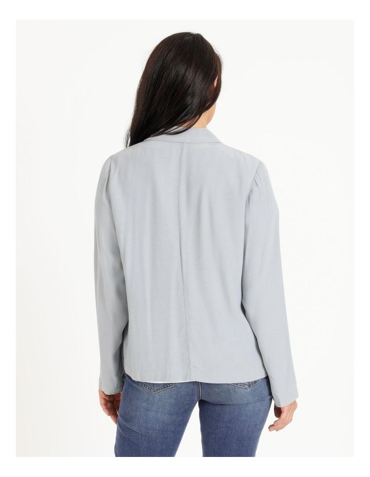 Unlined Crepe Jacket image 3