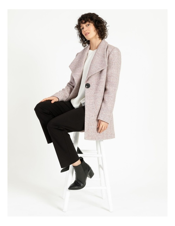 Confluence Shawl Collar Coat With Single Button image 2