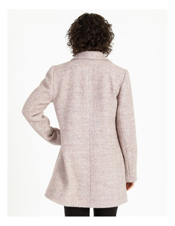 Confluence Shawl Collar Coat With Single Button image 3