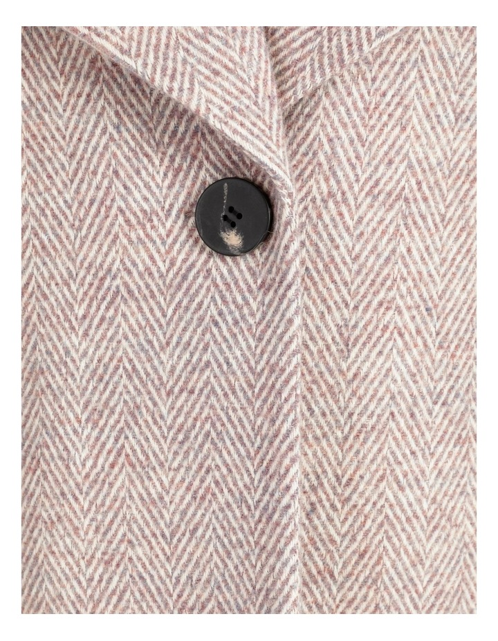 Confluence Shawl Collar Coat With Single Button image 7