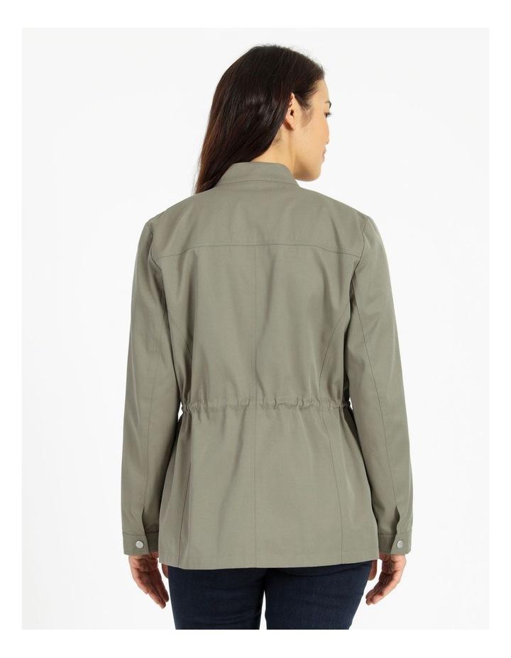 Light Weight Lined Jacket Khaki image 5