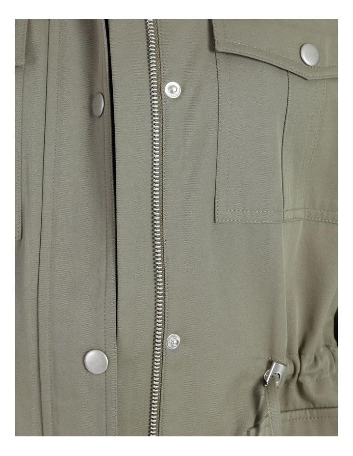 Light Weight Lined Jacket Khaki image 7