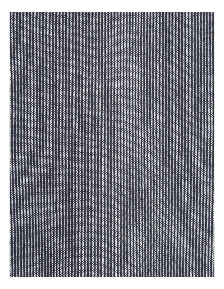 Linen Blend Jean Style Jacket Navy image 7
