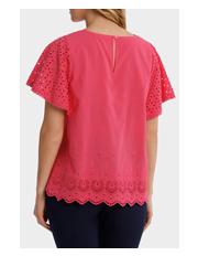 Regatta - Broderie Solid Short Sleeve Top