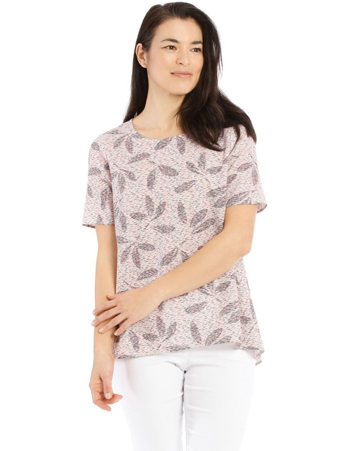 Short Sleeve Swing Hi Lo Top image 1