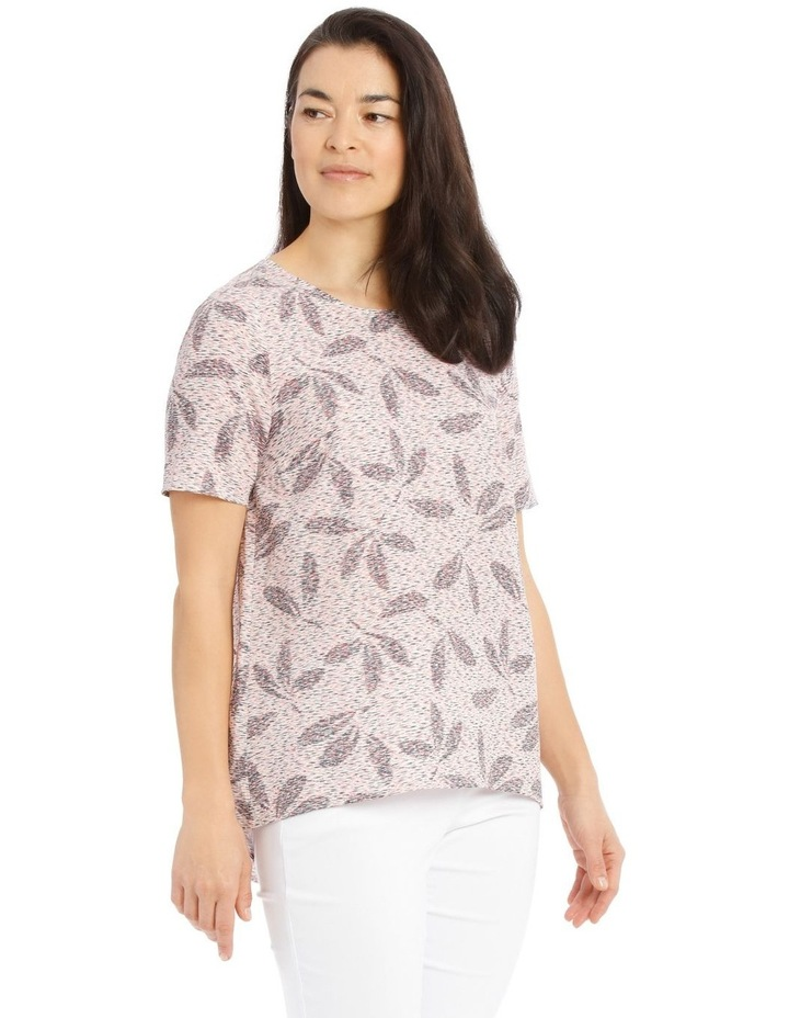 Short Sleeve Swing Hi Lo Top image 2