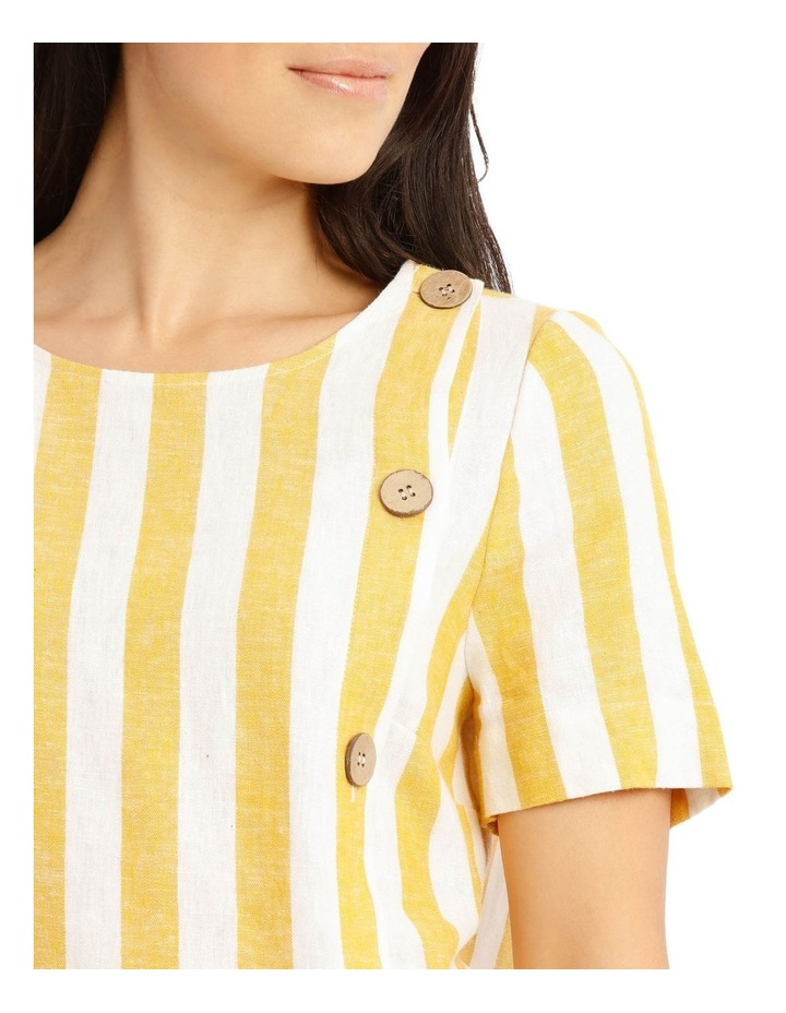 Side Button Short Sleeve Shell Top image 4