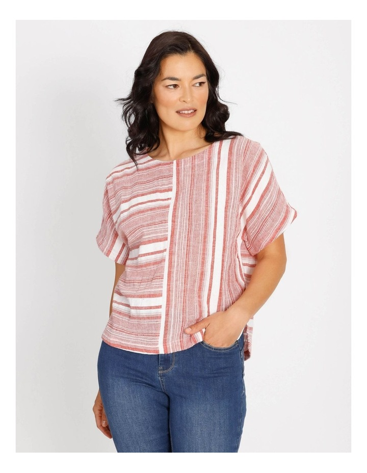 Horizontal And Vertical Stripes Top image 1