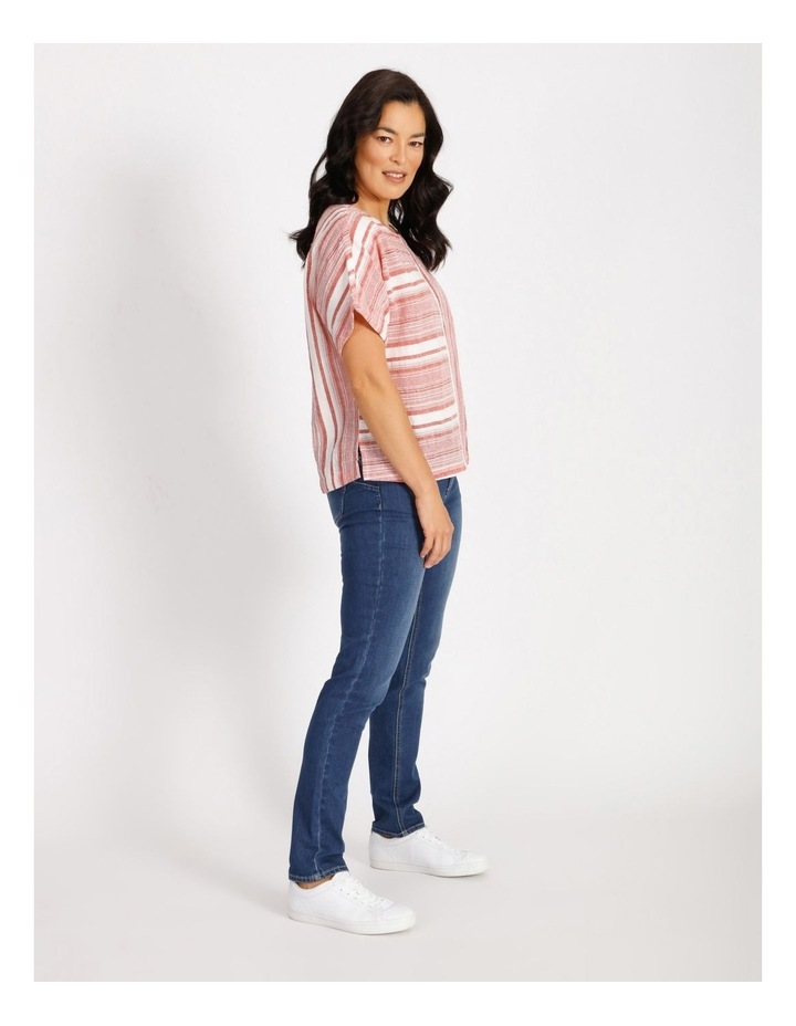 Horizontal And Vertical Stripes Top image 2