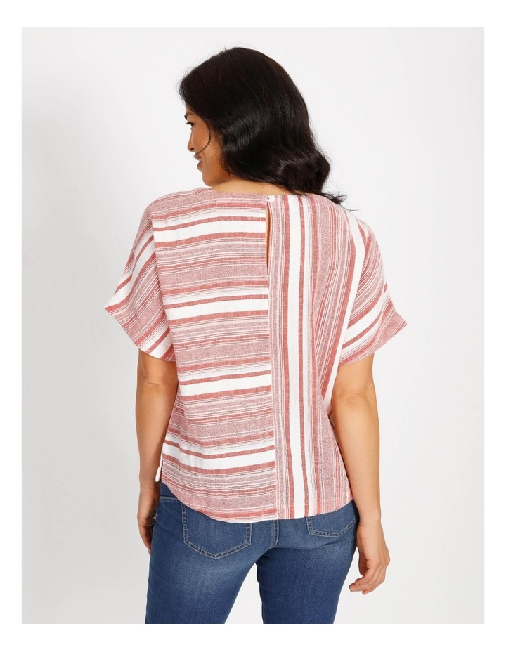 Horizontal And Vertical Stripes Top image 3
