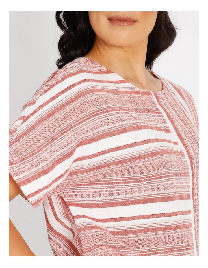 Horizontal And Vertical Stripes Top image 4