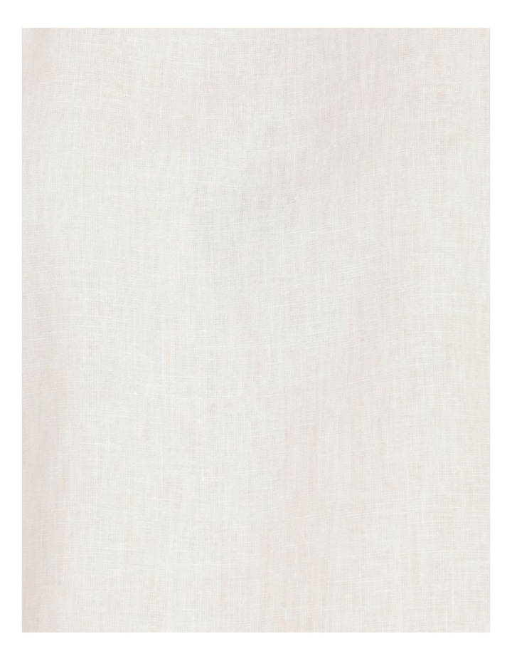 Short Magyar Sleeve Wide Hem And Side Splits Top Neutral Cross Dye image 7