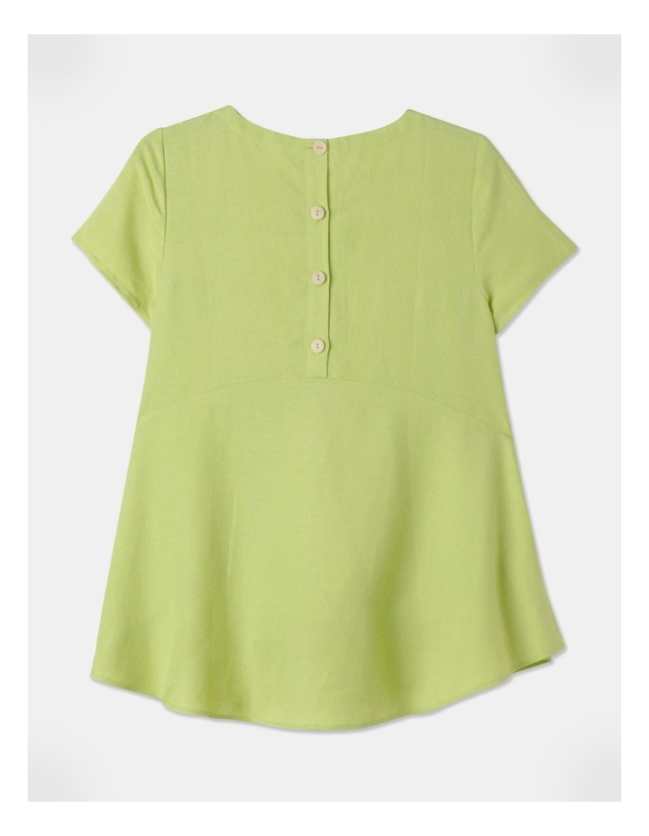 Short Sleeve Swing Top Pear image 3