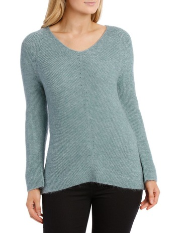 59361a386d6 RegattaTeal Marle Soft Long Sleeve V-Neck Jumper. Regatta Teal Marle Soft Long  Sleeve V-Neck Jumper