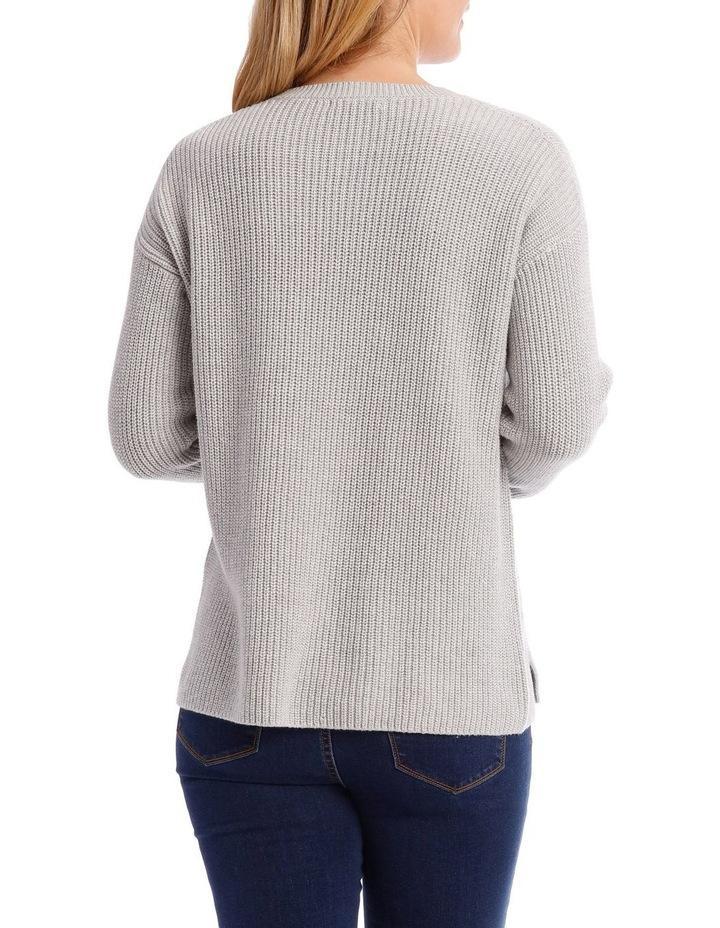 Dropped Shoulder Long Sleeve Jumper image 3