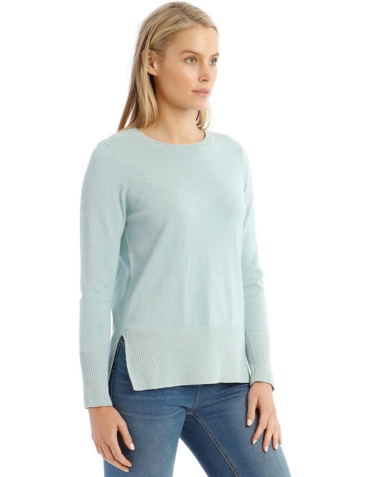 Diagonal Fancy Tipping Long Sleeve Jumper image 2