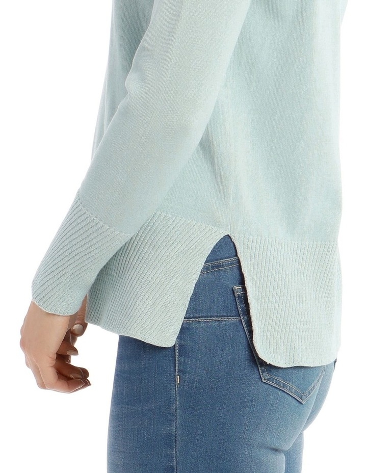 Diagonal Fancy Tipping Long Sleeve Jumper image 4