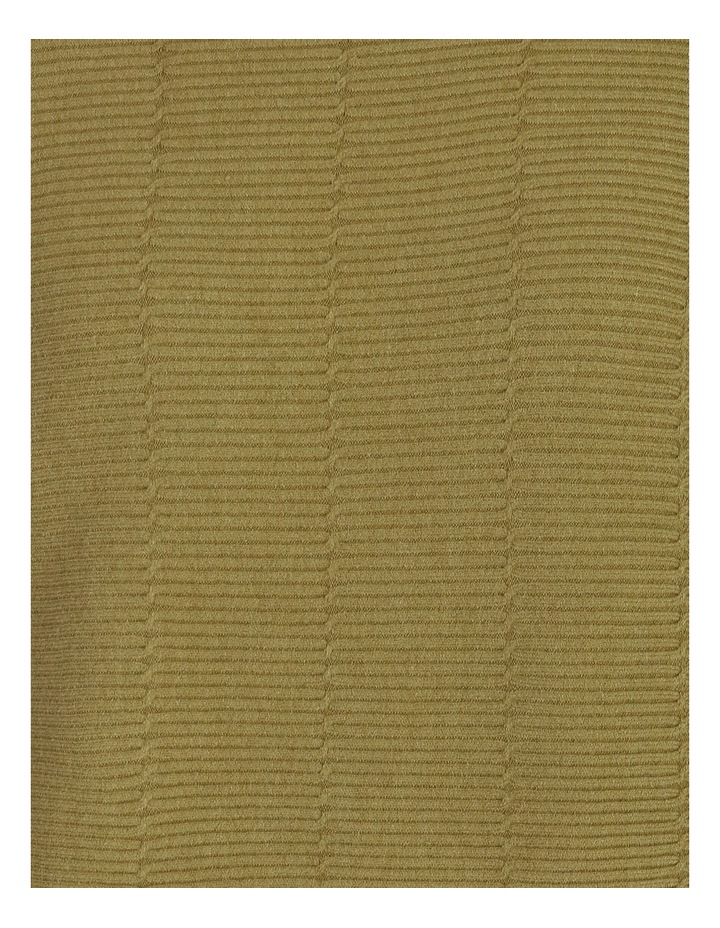 Olive Grove Funnel Neck 3/4 Magyar Sleeve Jumper image 5