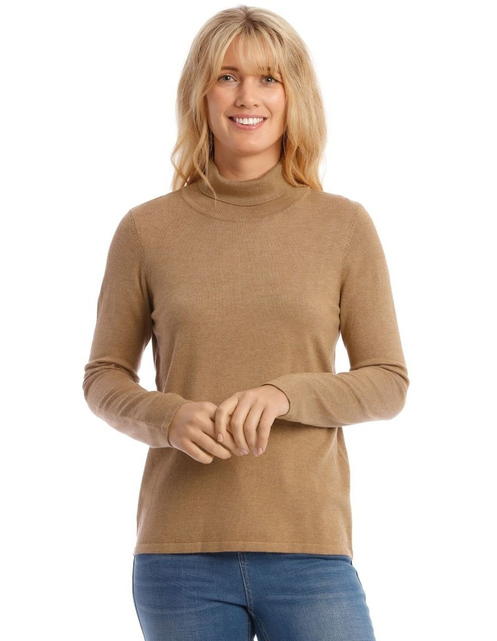 Roll Neck Long Sleeve Skivvy image 1