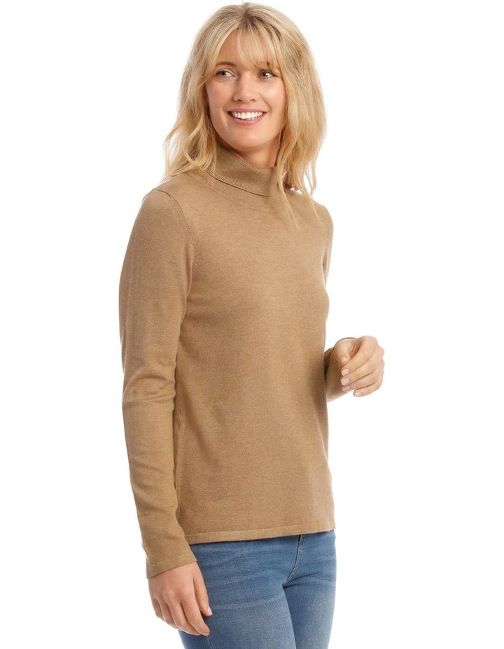 Roll Neck Long Sleeve Skivvy image 2