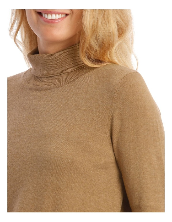 Roll Neck Long Sleeve Skivvy image 4