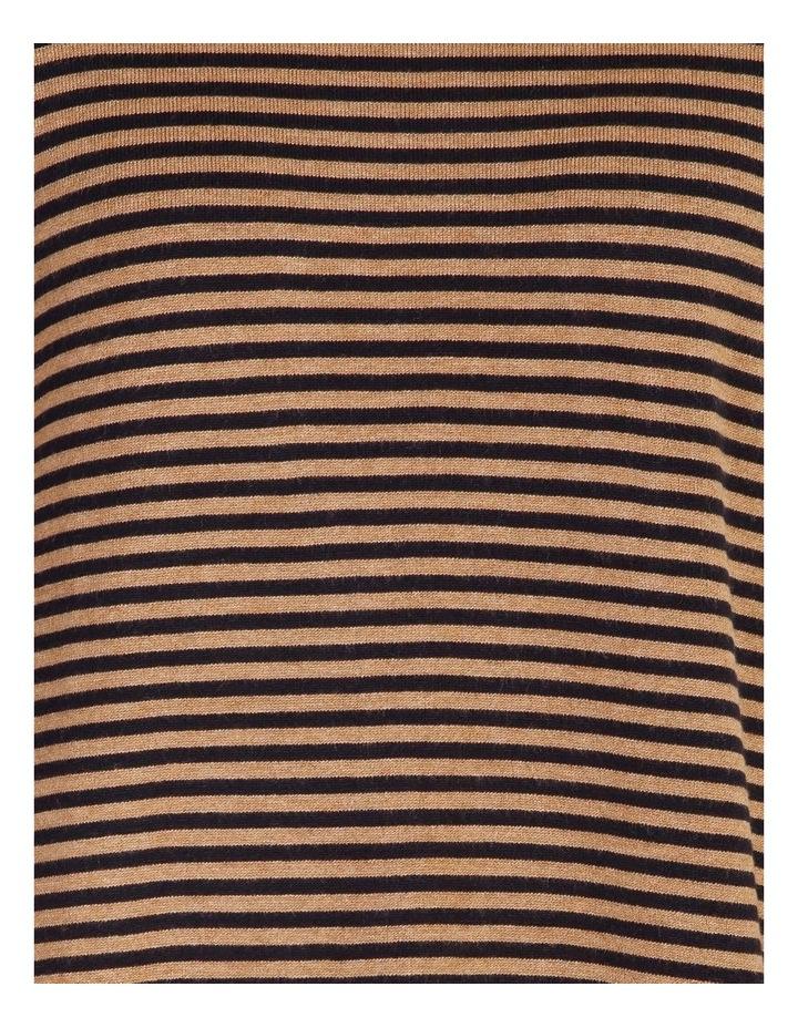 Burnished Crew Neck Long Sleeve Brenton Stripe Jumper image 5