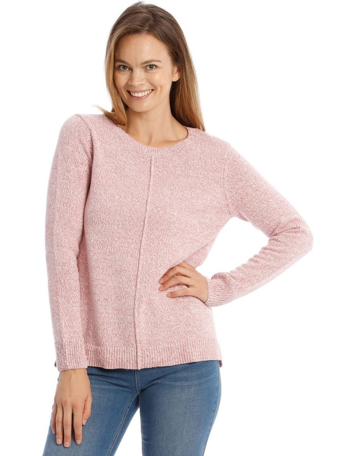Confluence Crew Neck Long Sleeve Jumper With Cf Seam image 1