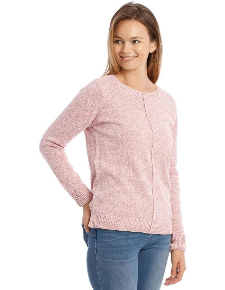Confluence Crew Neck Long Sleeve Jumper With Cf Seam image 2