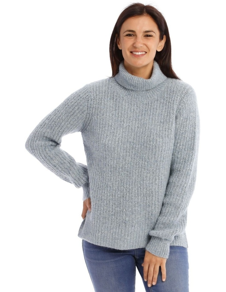 Roll Neck Rib Jumper image 1