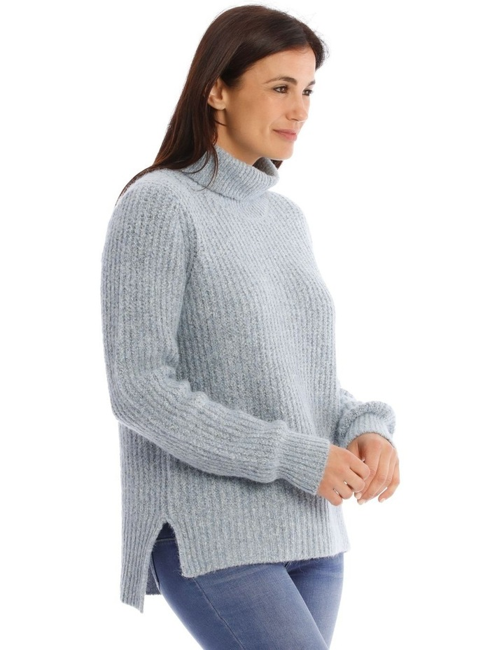 Roll Neck Rib Jumper image 2