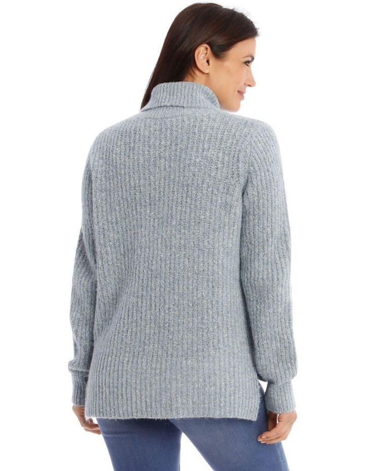 Roll Neck Rib Jumper image 3